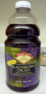 blackberry crush juice