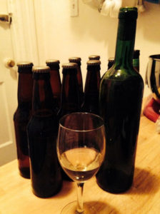 bottled lambic mead
