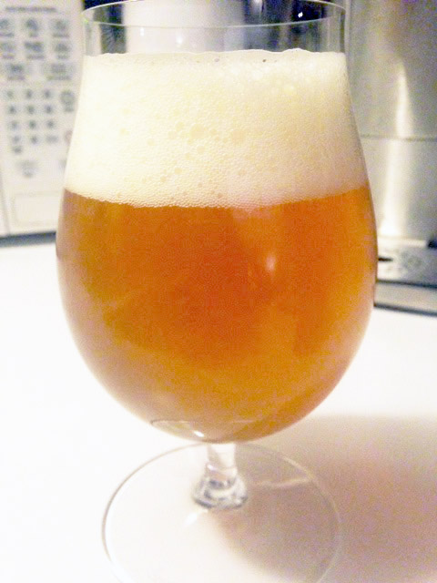 blonde ale finished