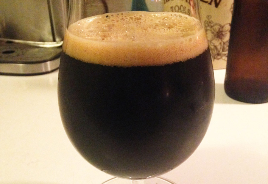Whiskey At Night: Oak Aged Porter