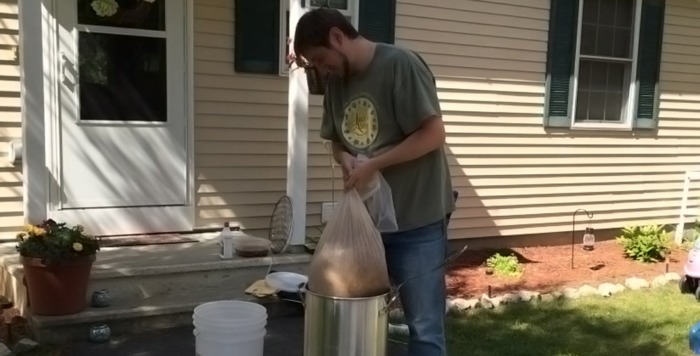 brewing for a wedding - batch 2