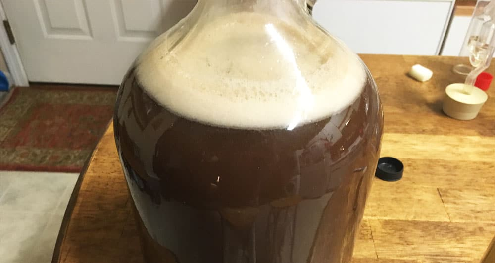 root beer liqueur pre-concentration