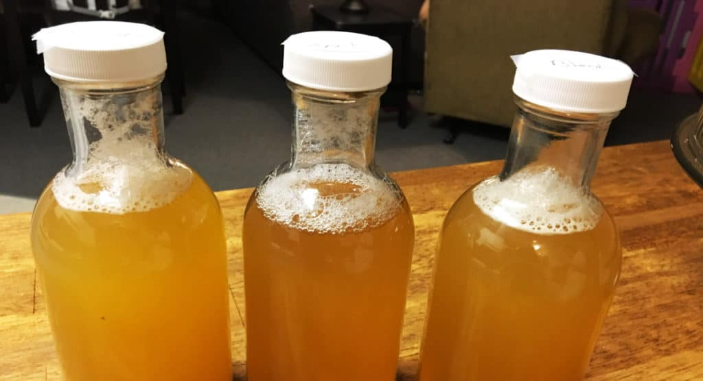 how ot make kombucha bottled